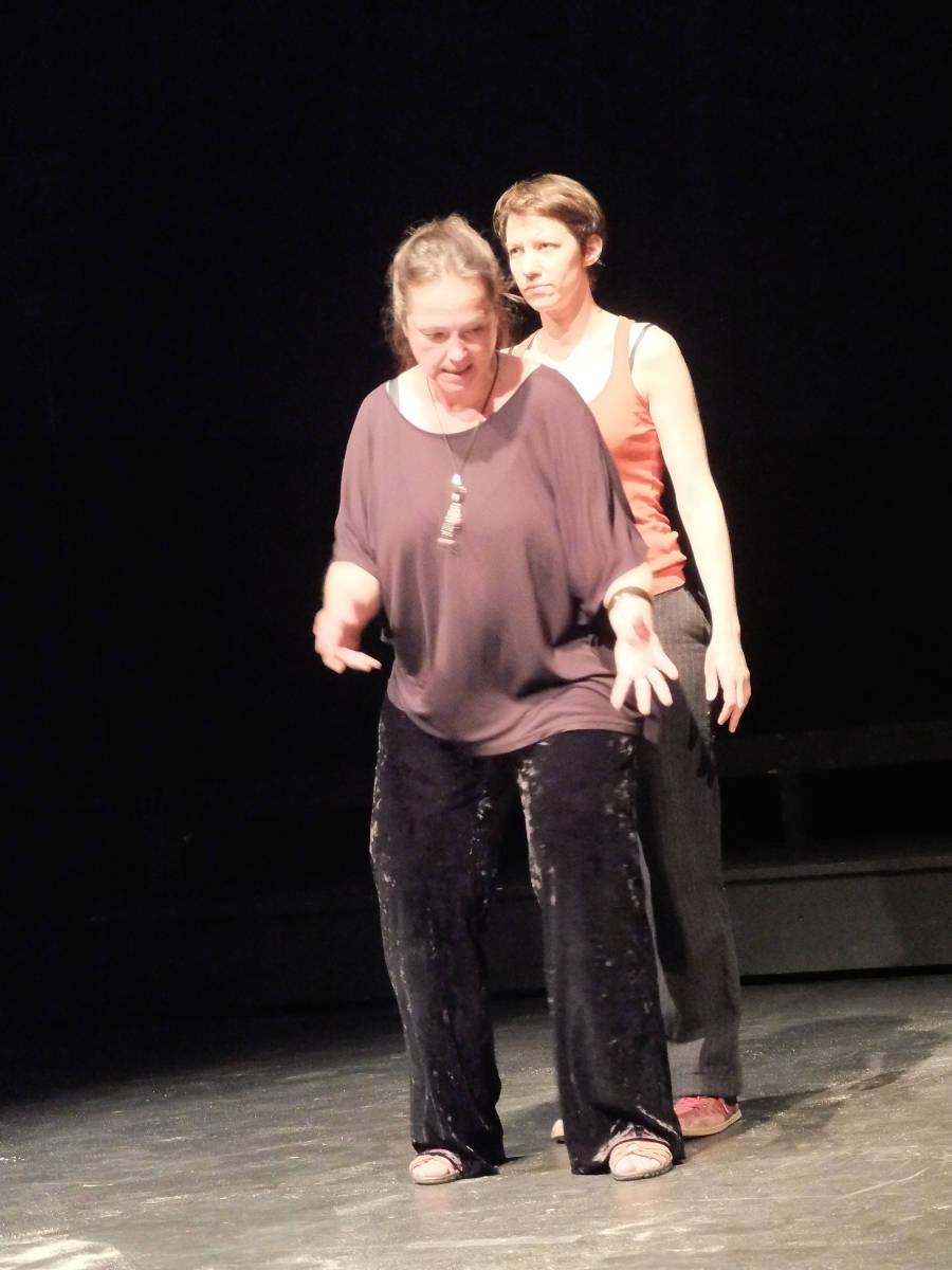 Et moi je veux Nager spectacle cours fin d'année, Cours de théâtre de Loulou, Genève