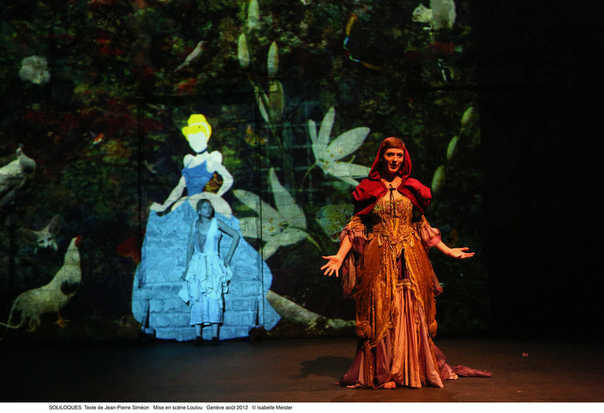 Soliloques - théâtre du FIl, Loulou - Genève 2012